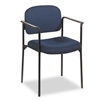 basyx Guest Chair w/Arms, Blue # BSXVL616VA90