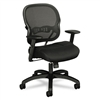 basyx VL712 Mid-Back Mesh/Fabric Swivel/Tilt Chair # BS