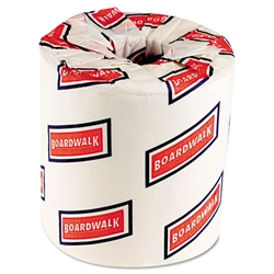 Boardwalk® Bath Tissue, Two-Ply, 500 Sheets/Roll, White, 96 Rolls/Case # BWK6180