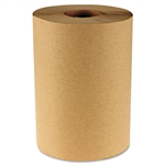 Boardwalk® Hardwound Paper Towels, 8 x 350', One-Ply Kraft, 12 Rolls/Carton # BWK6252