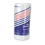 Boardwalk® Paper Towel Rolls, Perforated, 2-Ply, White, 85 Sheets/Roll, 30/Carton # BWK6272