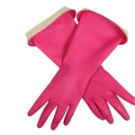Pink Casabella Waterblock Large Gloves