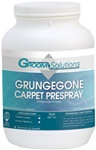 Groom Solutions Grungegone Carpet Prespray 4- 1 Gallon