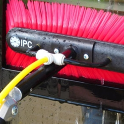 "IPC Eagle Ultra Pure Window Cleaning 45' Carbon Fiber Telescopic Pole w/14"" Speed Brush & GN8 Gooseneck CFC45T"