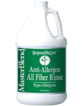 Anti Allergen All Fiber Rinse Removes Residual Allergens - 4 1-Gallon Jugs per Case, CG56GL