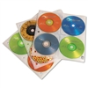 Case Logic Two-Sided CD Storage Sleeves for Ring Binder