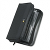 Case Logic CD/DVD Wallet Holds 72 CDs, Nylon, Black # C