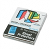 C-Line Transparent Paste Sheet Protectors, Ltr, Four Co