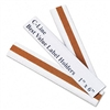 C-Line Peel and Stick Repositionable TOPLoad Label Hold