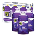 Clorox 144 oz Bottle, 3/Carton Lavender Clean Scent, Pine-Sol Multi Surface Liquid Cleaner Disinfectant, CLO97301-carton