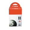 Canon 0628B009 (PGI-5BK) Ink, 2/Pack, Black # CNM0628B0