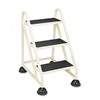 Cramer STOPStep Three-Step Aluminum Ladder, 21-3/8w x 2