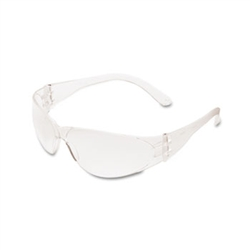 Crews Checklite Scratch-Resistant Safety Glasses, Clear