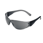 Crews Checklite Scratch-Resistant Safety Glasses, Gray