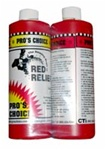 RED RELIEF (2 PINTS A&B) (ORM-D) PRO'S CHOICE RED STAIN