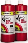 RED RELIEF (2QTS A&B) (ORM-D) PRO'S CHOICE RED STAIN RE