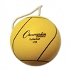 Champion Sports Tether Ball, Rubber/Nylon, Optic Yellow