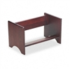 Carver Binder Rack, Wood, 17 1/4 x 10 x 10, Mahogany Fi