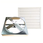 Ventamatic Cool Attic Direct Drive Whole House Fans with Shutter # CX242DDWT