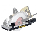 Dustless Worm Drive Saw Dust Shroud