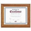DAX Document/Certificate Frame, Wood, 8-1/2 x 11, Stepp
