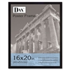 DAX Flat Face Wood Poster Frame w/Plexiglas Window, 16