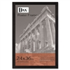 DAX Black Wood Poster Frame w/Plexiglas Window, Wide Pr