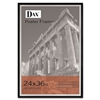 DAX Metro Series Poster Frame, Solid Wood, 24 x 36, Bla