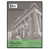 DAX Coloredge Poster Frame w/Plexiglas Window, 18 x 24,