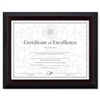 DAX Solid Wood Award/Certificate Frame, 8-1/2 x 11, Bla