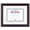 DAX Prestige Document Frame, Matted w/Certificate, Rose