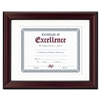 DAX Rosewood Document Frame, WALLMount, Wood, 11 x 14 #