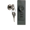 Durable Combination Locking Key Cabinet, 72-Key Tag Cap