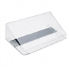 deflect-o Letter Size Magnetic Wall File Pocket, Letter