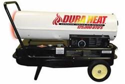 Duraheat Dfa170c Portable Forced Air Kerosene Heater 170kbtu