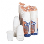 Dixie Hot Cups, Paper, 10 oz., Coffee Dreams Design, 50