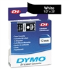 DYMO D1 Standard Tape Cartridge for Dymo Label Makers,