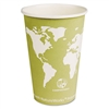 ECOProducts Paper Hot Cups w/Compostable PLA Plastic, 1