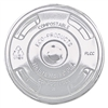 ECOProducts Lids, for Corn Clear Plastic Cups, Flat, Cl