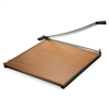 X-ACTO Wood Base Guillotine, 30 x 30 # EPI26630