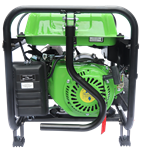 Lifan 3500-Watt Surge 3200 Watt Rated Recoil Start Open Frame Generator -CARB, ES4150E-CA