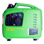 Lifan Energy Storm Digital Inverter Generator, 40cc OHV 4-Stroke - Recoil Start with TDI Ignition, 700 watt Surge Power - 600 Watt Continuous, ESI 860i-CA