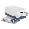 Bankers Box FastFold Stor/File Lid Box, Letter, 12 x 2