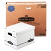 Bankers Box Stor/File Box w/Lid & Handle, Letter/Legal,
