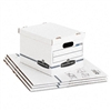 Bankers Box Stor/File Box w/Handles, Ltr/Lgl, 12 x 15 x