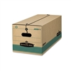 Bankers Box FastFold Tie Close Box, Letter, 12 x 24 x 1