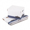 Bankers Box Quick/Stor Lock Lid File Box, Lgl/Ltr, 12 x