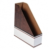Bankers Box Corrugated Cardboard Magazine File, 4 x 11