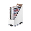 Bankers Box Corrugated Cardboard Magazine File, 4 x 9 1