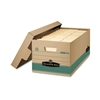Bankers Box 100% Recycled Storage Box, 10w x 24d x 12h,